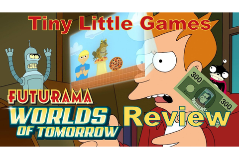 Futurama: Worlds of Tomorrow Android iOS Game Review - YouTube