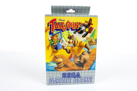 Disney's TailSpin by SEGA of America for Sega Game Gear ...