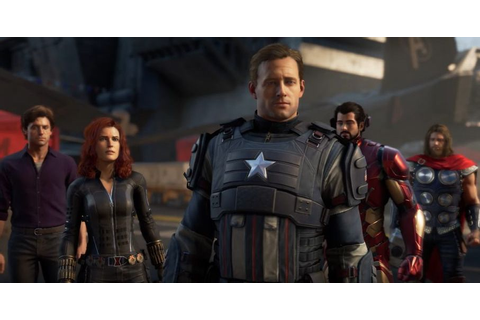 Avengers Video Game Trailer Assembles Earth's Mightiest ...