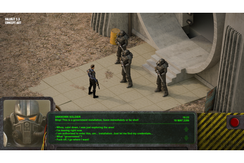 Fallout 2.5 Dialogue Preview by Ambrozewicz on DeviantArt