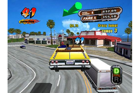 Crazy Taxi 1 Game - Free Download Full Version For PC