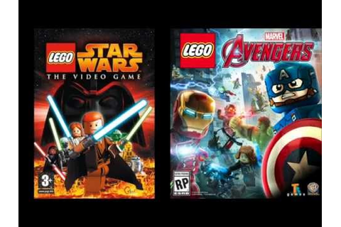 Lego Video/games 2005 - 2016 Part 2 - YouTube