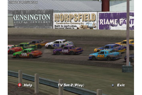 Nascar Dirt to Daytona (USA) Nintendo GameCube / NGC ISO ...