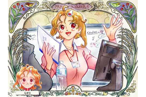 Princess Maker 5 English Ending 50 Office Lady - YouTube