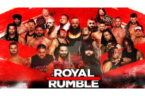 WWE Royal Rumble 2018 - FULL MATCH - YouTube