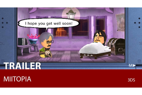 Miitopia (Game Trailer) - YouTube