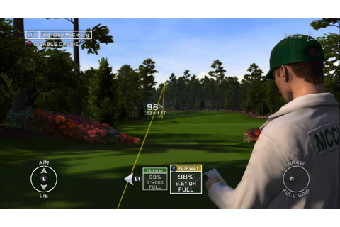 Tiger Woods PGA Tour 12: The Masters Gameplay Demo (PS3 ...