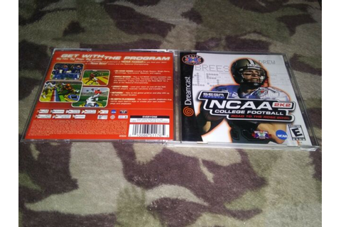 NCAA College Football 2K2: Road to the Rose Bowl(Sega ...