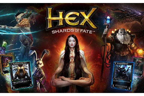 I I HEX: Shards of Fate: Neues Kartenset Herofall