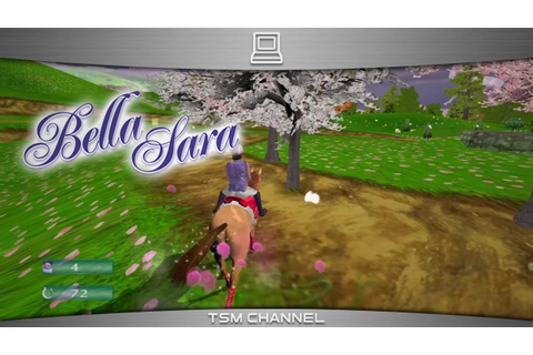 Bella Sara (part 2) (Horse Game) - YouTube