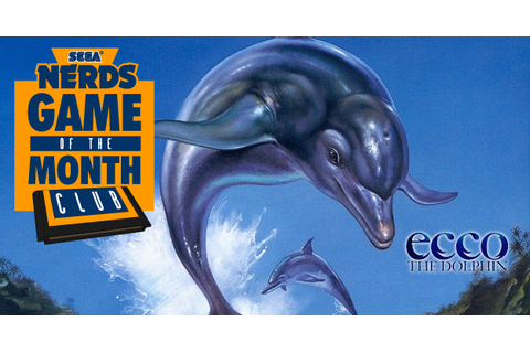 Ecco the Dolphin is May's Game of the Month | SEGA Nerds