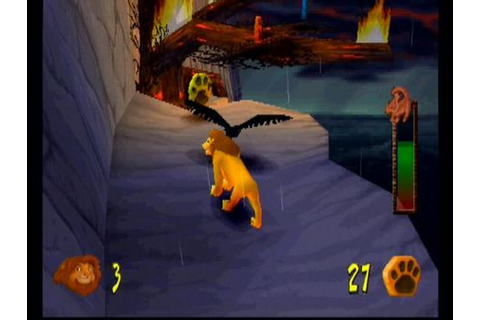 The Lion King: Simba's Mighty Adventure Screenshot (PS1 ...