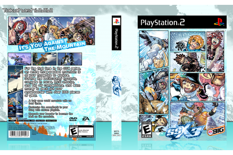 SSX 3 PlayStation 2 Box Art Cover by Takahashi2212