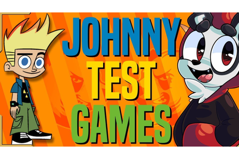 JOHNNY TEST GAMES | The Alpha Jay Show - YouTube