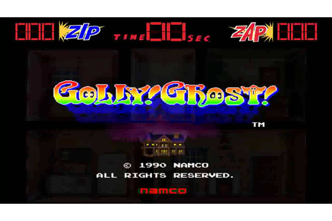 Golly! Ghost! Game Sample - Arcade - YouTube