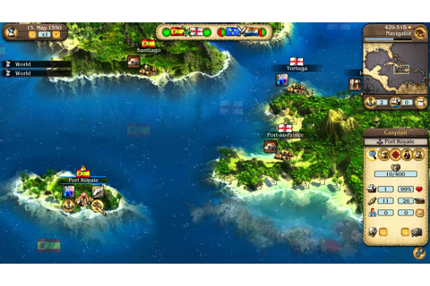 Port Royale 3: Official HD Video Game Tutorial Pirates ...