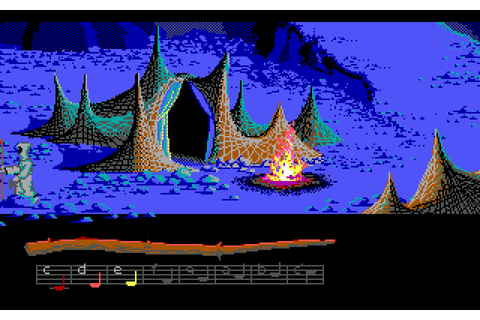 Remembering Loom, the adventure game designed to be ...