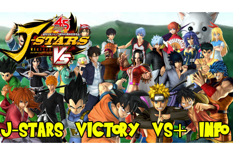 J-Stars Victory VS+ Official Release Date, Character ...