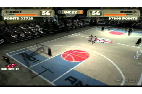 And1 Streetball game 1 part 2 - YouTube