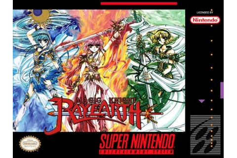 Magic Knight Rayearth (J+English Patched) SNES ROM | Cdromance