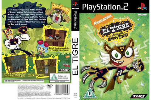 Download Game El Tigre - The Adventures Manny Rivera PS2 ...