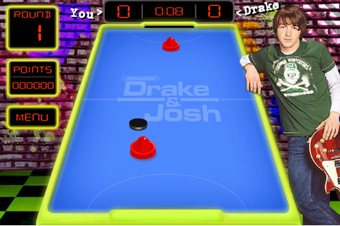 Play Drake & Josh Air Hockey - Free online games with ...