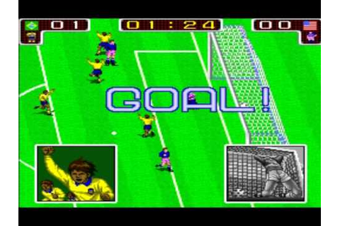 Tecmo World Cup 90 - Classic Arcade - YouTube