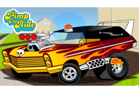 Pimp My Ride Car Design & Paint Job Amazing Game For Kids ...