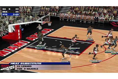Let's Play Some Sports...Games - NBA Live 2000 - YouTube