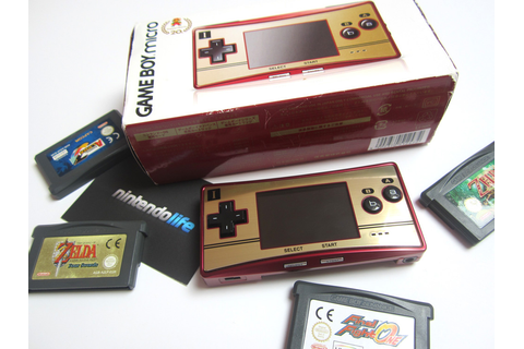 Hardware Classics: Game Boy Micro Famicom Edition ...