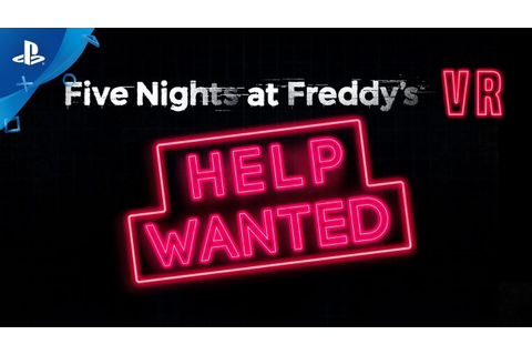 Five Nights at Freddy's VR: Help Wanted - Launch Trailer ...