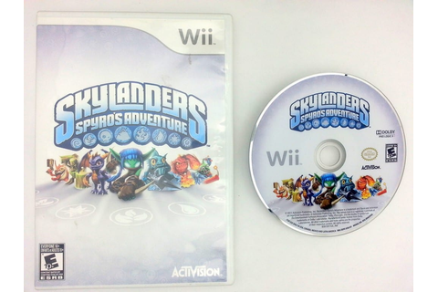 Skylanders Spyro's Adventure game for Nintendo Wii -Game ...