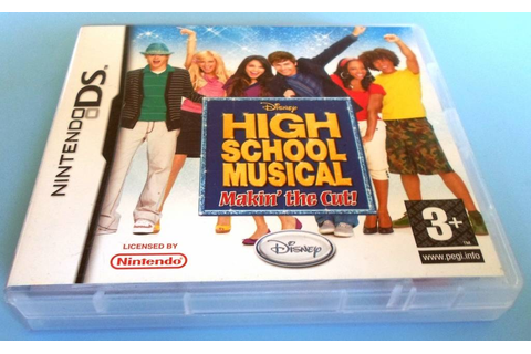 HIGH SCHOOL MUSICAL - MAKIN' THE CUT - Nintendo DS ...