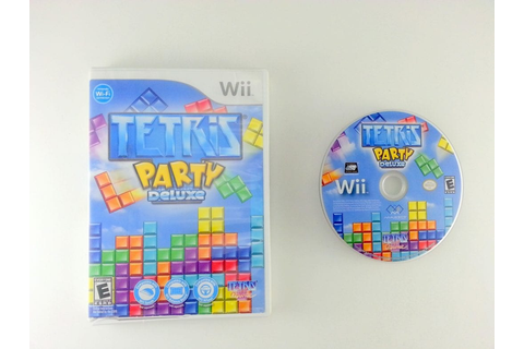 Tetris Party Deluxe game for Wii | The Game Guy