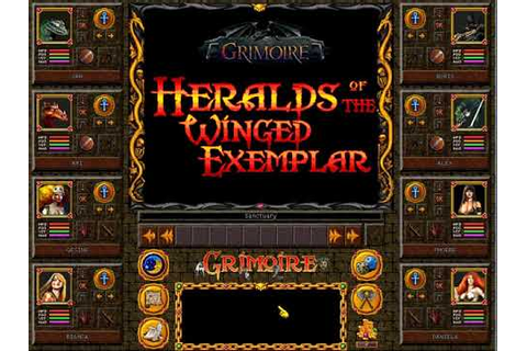 Let's Play Grimoire : Heralds of the Winged Exemplar # New ...