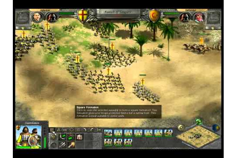 Reconquista (Knights of Honor PC Game) - YouTube