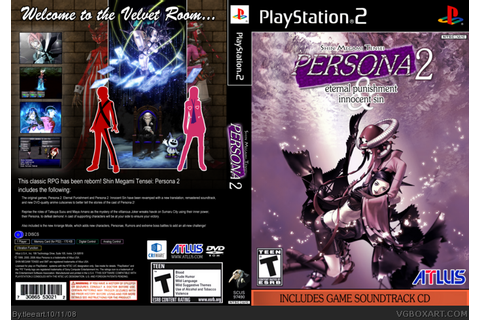 Persona 2: Eternal Punishment & Innocent Sin PlayStation 2 ...