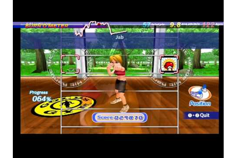 Gold's Gym Cardio Workout Wii - HRM Overlay - YouTube