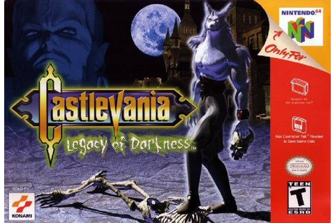 Castlevania: Legacy of Darkness | Games | Pinterest