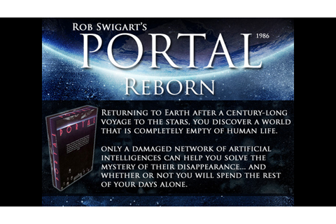 Rob Swigart's Portal (1986) Reborn v2.0 (Canceled) by ...