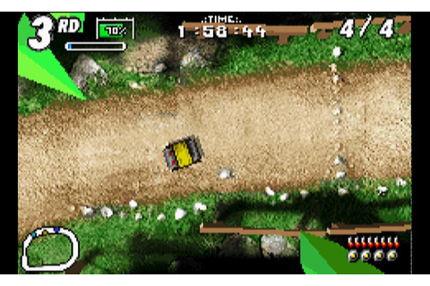 Play Karnaaj Rally • Game Boy Advance GamePhD