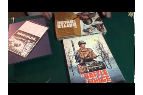 classic board game rewind avalon hills battle of the bulge ...