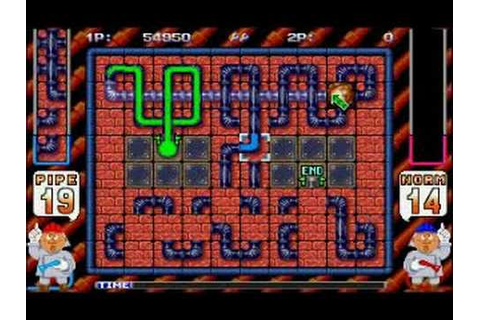 Pipe Dream Arcade Game - YouTube