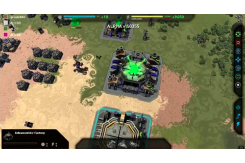 Planetary Annihilation Mobile Android/iOS Mobile Version ...