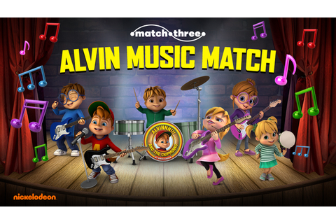ALVINNN!!! and The Chipmunks: Music Match Puzzle Game
