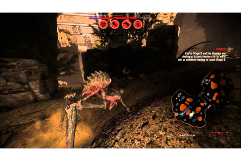 Evolve - Gorgon Multiplayer Gameplay | Whole Game | JUST ...