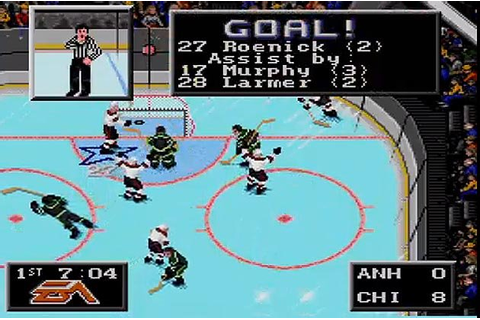 The 10 greatest things about EA Sports' NHL '94, from ...