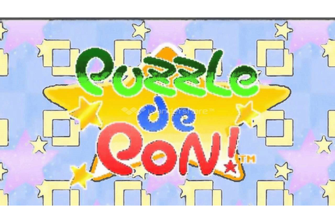 Puzzle de Pon! Neo Geo Music Game Over - YouTube