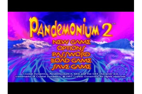 Pandemonium 2 - 1997 PC Game, introduction and gameplay ...