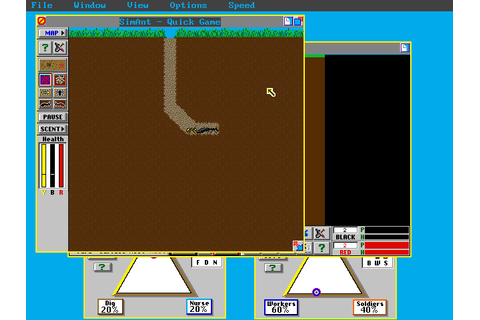 SimAnt - The Electronic Ant Colony | Old MS-DOS Games ...